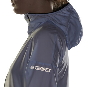 adidas TERREX Agravic Windjacke Damen aero blue